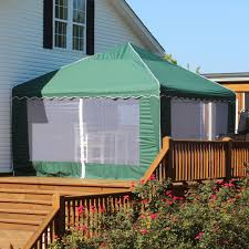 king canopy 13x13 backyard garden party green