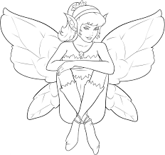 fairy princess coloring pages virtren com