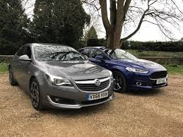 opel insignia 2017 wagon ford mondeo vs vauxhall insignia parkers