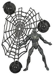man 3 super poseable black spider man action figure