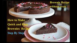 brownie recipe without oven best eggless chocolate brownies