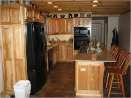 natural hickory kitchen cabinets cabinet home decorating ideas
