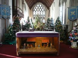 christmas tree festival st peter and st marys church of england