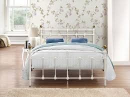 birlea atlas bed metal cream small double amazon co uk