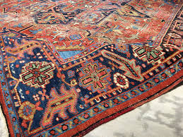 Antique Washed Rugs Worn Rug Heriz Antique 11 2 X 8 3 Ft 340 X 253 Cm Persian Rugs