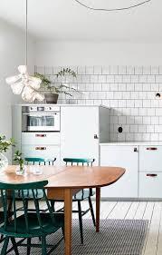 table cuisine blanche la cuisine blanche et bois en 102 photos inspirantes kitchens