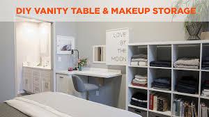 Diy Vanity Table Diy Vanity And Makeup Table Diy
