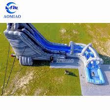 inflatable backyard water slide sl1768 inflatable slide