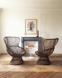 bureau en rotin atelier vime paire de fauteuils en rotin marguerita franco