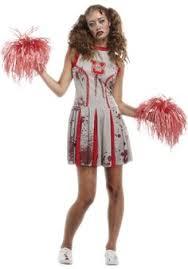 Halloween Costumes Zombies Undead Cheerleader Zombie Costume Halloween Costumes Escapade