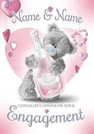 Congratulations Engagement Card Unique Engagement Cards Special Designs All Engagement Cards
