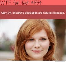 Redhead Meme - wtf fun fact redheads weknowmemes