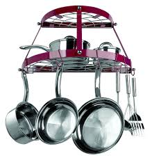 lighted hanging pot racks kitchen pot racks u0026 hanging baskets walmart com