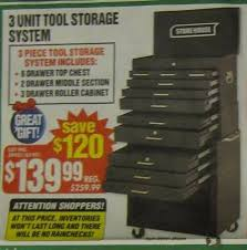 garage journal home depot black friday ad fyi harbor freight roller cabinet sale 339 99 archive the