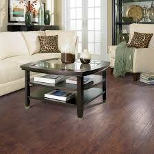 Laminate Flooring At Lowes Shop Allen Roth 4 84 In W X 3 93 Ft L Toasted Handscraped
