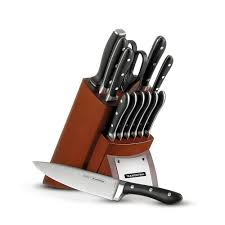 tramontina gourmet 14 piece knife set 80008 547ds the home depot