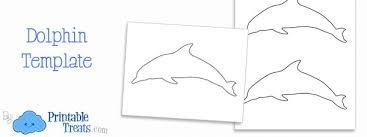 printable dolphin images printable dolphin template printable treats com