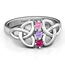 celtic rings celtic rings personalized with engravings and gemstones jewlr