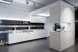 contemporary kitchen wood veneer lacquered harmony in space
