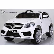 mercedes jeep white licensed mercedes a45 suv 12v ride on jeep with remote white