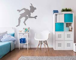 peter pan shadow wall decal small home decor inspiration