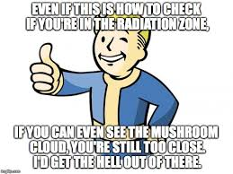 Vault Boy Meme - seriously just run imgflip