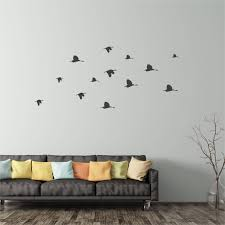 flock of flying birds wall sticker peel and stick wall decals bird flock of flying birds wall sticker peel and stick wall decals bird decor hunting sticker outdoors