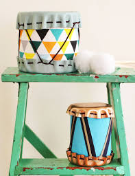 gift idea diy drums u2013 a beautiful mess