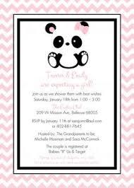 Panda Baby Shower Invitations - panda baby shower panda baby shower invitation gender neutral