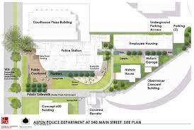 police station floor plans cunniffe to design police housing aspen public radio