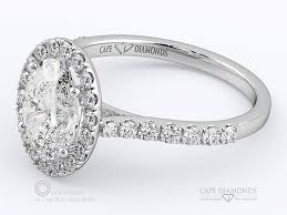 wedding rings cape town 141 classic best oval halo pavé cape town engagement ring cape