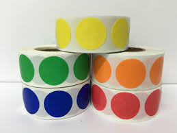 Bluedot Furniture Color Coded Coding Inventory Dots Stickers Labels