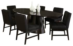 Black And Silver Dining Room Set Designs - Black dining room table