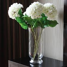 Modern Flower Vase Arrangements Buy Modern Brief Glass Vase Decoration Artificial Flower Derlook