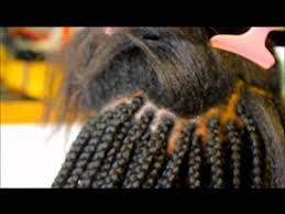 hair to use for box braids loose box braids with feather tips youtube