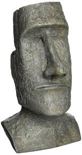 amazon com design toscano easter island moai monolith sculpture