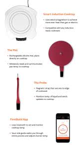 How Induction Cooktop Works Paragon The Ultimate Smart Cooking System Indiegogo