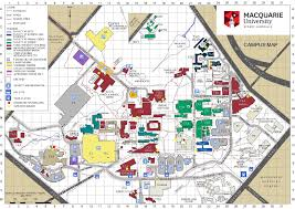 Boston University Campus Map Macquarie University Map Macquarie University Campus Map Australia