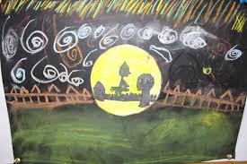 halloween art st conleth and marys primary