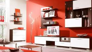 Brown Red And Orange Home Decor Red And Brown Living Room Ideas