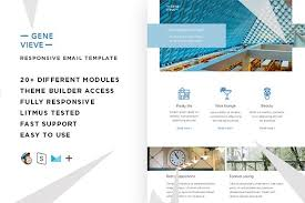 genevieve u2013 email template builder email templates creative