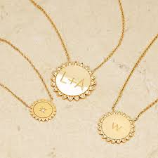 custom gold necklace you are my necklace with diamonds logan hollowell jewelry