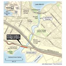 Brooklyn College Map New Oakland Bridge Expected To Be Two Years Late Millions Over