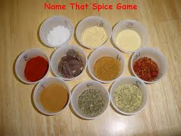 name that spice game plus a bunch of other great ideas for a