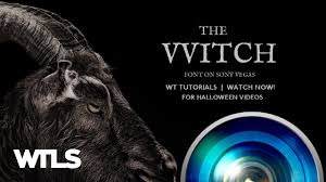 the witch film effect on sony vegas for halloween youtube