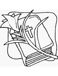 Easter Flower Coloring Pages - easter pages to color coloring pages part 2