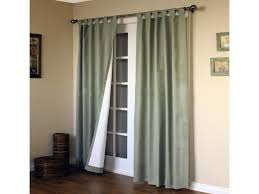 decor window treatment ideas for sliding glass doors cabin