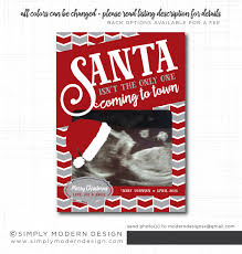 christmas pregnancy announcement holiday card christmas card
