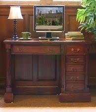 Computer Desk Mahogany Mahogany Computer Desks Furniture Ebay