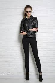 leather motorcycle jacket brands online get cheap brand genuine leather biker jacket women